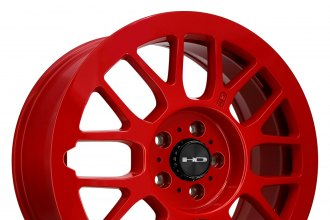 "HD® - GEAR Gloss Red (18"" x 7.5"", +35 Offset, 5x114.3 Bolt Pattern, 73.1mm Hub)"