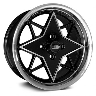 HD® - RS-B Gloss Black with Machined Accents and Lip