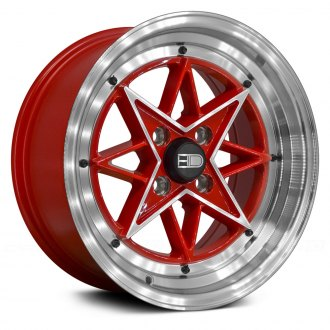 HD® - RS-L Red with Machined Accents and Lip