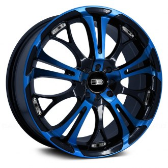 HD® - SPINOUT Gloss Black with Blue Face