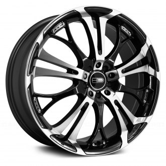 HD® - SPINOUT Gloss Black with Machined Face