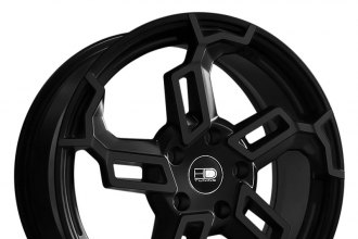 "HD® - SWITCH Satin Black (18"" x 7.5"", +42 Offset, 5x114.3 Bolt Pattern, 73.1mm Hub)"