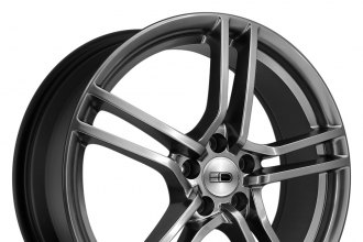 "HD® - VENTO Hyper Black (18"" x 7.5"", +38 Offset, 5x114.3 Bolt Pattern, 73.1mm Hub)"