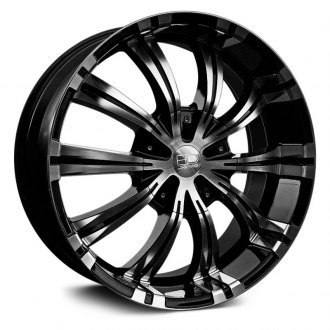 HD® - VERTIGO Gloss Black with Machined Face