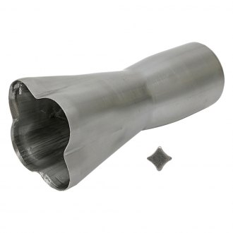 Hedman Hedders® - Mild Steel Raw Merge Exhaust Header Collector