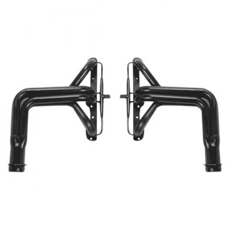 Hedman Hedders® - Elite Ultra-Duty Street Mild Steel Black MAXX Satin Black Ceramic-Metallic Long Tube Exhaust Headers