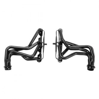 Hedman Hedders® - Standard Duty Mild Steel Black MAXX Satin Black Ceramic-Metallic Long Tube Exhaust Headers