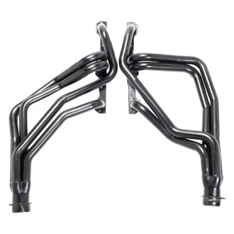 Hedman Hedders® - Standard Duty Mild Steel Black MAXX Satin Black Ceramic-Metallic Racing Exhaust Headers