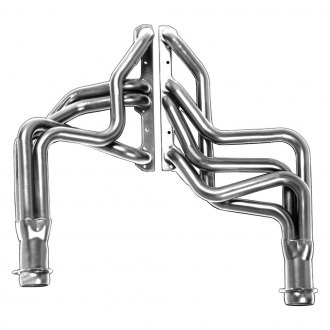 Hedman Hedders® - Elite Ultra-Duty Mild Steel Silver Matte Ceramic-Metallic Racing Exhaust Headers