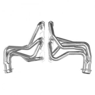 Hedman Hedders® - Elite Ultra-Duty Mild Steel Silver Matte Ceramic-Metallic Long Tube Racing Exhaust Headers