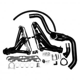 Hedman Hedders® - Standard Duty Mild Steel Mid-Length Tube Exhaust Headers