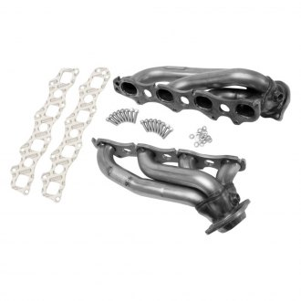 Hedman Hedders® - Standard Duty 304 SS Shorty Exhaust Headers