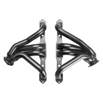 Hedman Hedders® - Mild Steel Black MAXX Satin Black Ceramic-Metallic Mid-Length Tube Racing Exhaust Headers for Pro-Touring Set-Ups