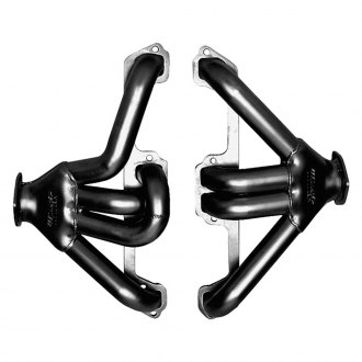 Hedman Hedders® - Tight Tubes™ Street Rod Mild Steel Black MAXX Satin Black Ceramic-Metallic Racing Exhaust Headers