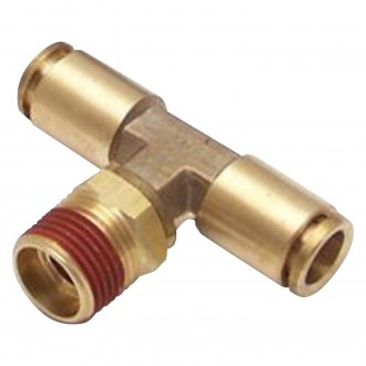 Helix® - Straight Male Thread to Tube to Tube Fitting