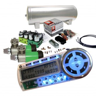 Helix® - Dual Compressor Digital Air Suspension Controller Kit
