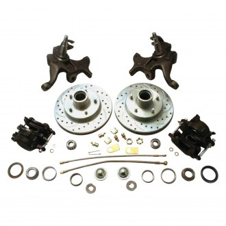 "Helix® - Disc Brake Conversion Kit with 2"" Drop Spindles"