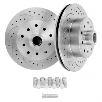 "Helix® - 11"" Drilled and Slotted Rotors"