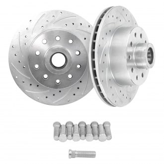Helix® - SureStop™ Drilled and Slotted Vented 1-Piece Front Brake Rotors