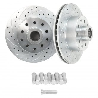 "Helix® - SureStop 11"" Drilled and Slotted Rotors Multi Lug with Bearings"