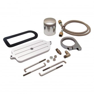 Helix® - Billet Remote Brake Reservoir Kit with Small Tank