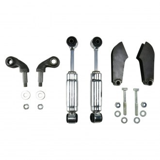 Helix® - Chrome Solid Axle Shock Kit
