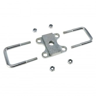 Helix® - Front Leaf Spring Plate U-Bolts and Clamp Kit