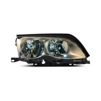 HELLA® - Passenger Side Chrome Replacement Headlight