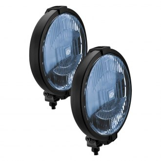 "Hella® - Rallye 1000-Series Black Magic ECE 7.3"" 55W Round Driving Beam Lights"