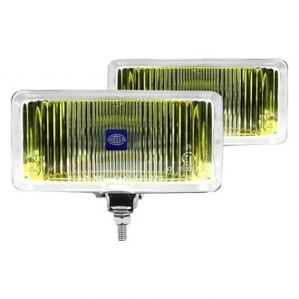 Hella® - 550 Series Yellow Rectangular Fog Lights