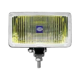 Hella® - 450 Series 161x90mm Rectangular Yellow Fog Light