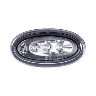 Hella® - Oval LED Side Marker Light