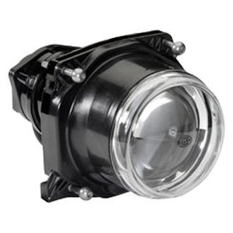 "Hella® - 3.5"" High/Low Beam Round Premium Chrome Retrofit Projector"