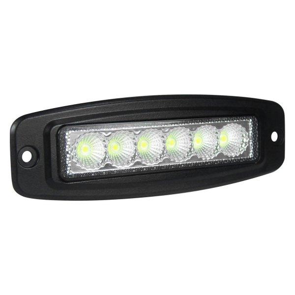 "Slim Led Garage Lights: ValueFit Mini 6"" 18W Slim Spot Beam LED"