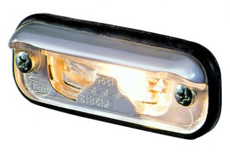 HELLA® - 1378 License Plate Lamp, ECE Approved