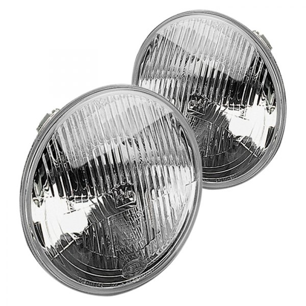 Hella® - Round Factory Style Sealed Beam Headlights