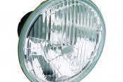 "HELLA® - 5.3"" Round 12V-55W High/Low Beam Halogen Conversion Headlights Kit with Clear Lens"