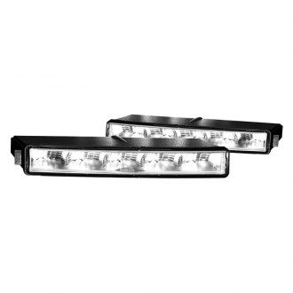 Hella® - Rectangular Slim LED Daytime Running Light Kit
