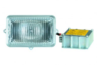 "HELLA® - Module 12V-35W 6.4""x4"" Rectangle Xenon Work Lamp with Clear Lens"