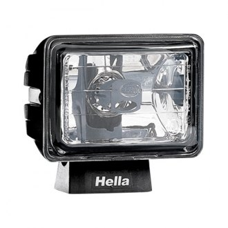 HELLA® - Micro FF Black Rectangle Fog Light
