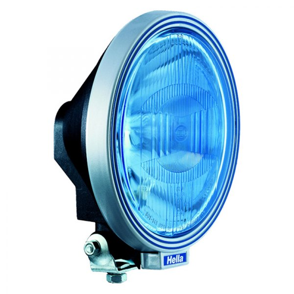 HELLA® - Rallye 3000 Round Driving Lights with Blue Lens