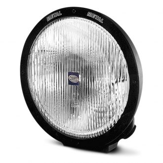 HELLA® - Rallye 4000 Black Halogen Euro Beam Light with Position Light