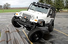 Hellwig® - Front Sway Bar on Jeep Wrangler