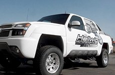 Hellwig® - Off Road Sway Bar on Chevy Silverado