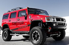 Hellwig® - Off Road Sway Bar on Hummer H3