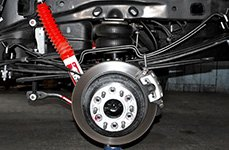 Hellwig® - Pro Series Helper Springs Installed