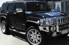 HELO® - HE835 Chrome on Hummer H2