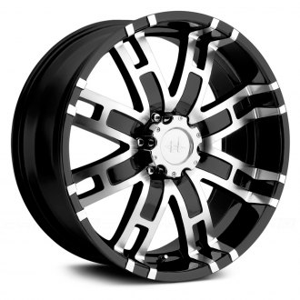 HELO® - HE835 Gloss Black with Machined Face