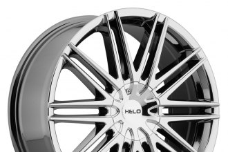 "HELO® - HE880 Bright PVD (20"" x 8.5"", +42 Offset, 6x98-127 Bolt Patterns, 74.1mm Hub)"