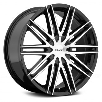 HELO® - HE880 Gloss Black with Machined Face